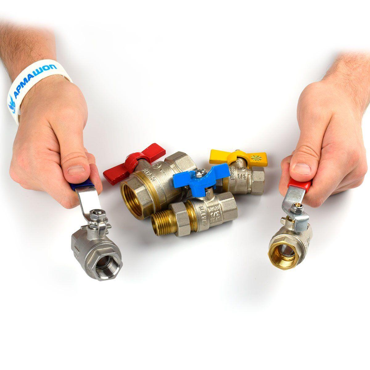Как выбрать шаровый кран, какие краны лучше для водопровода — Armashop.ua