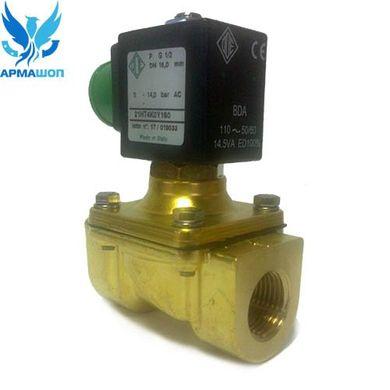 9d5729f9ecd ➤ Клапан электромагнитный ODE 21HT4KOY160 нормально закрытый 1 2 ...